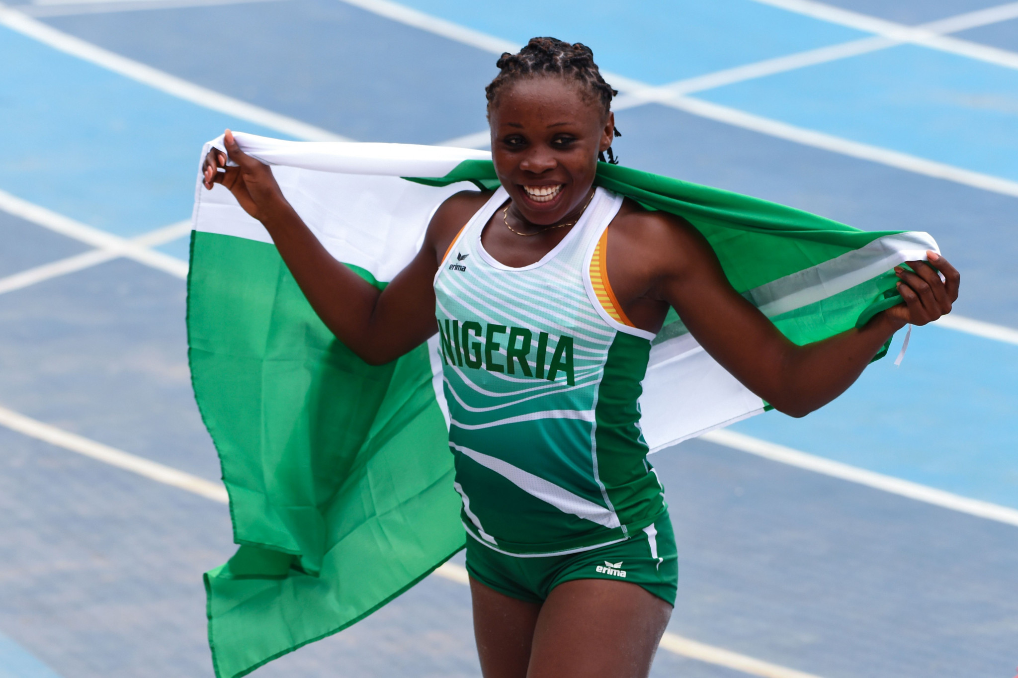 African Games triple jump champion Anigbata admits to nerves before gold