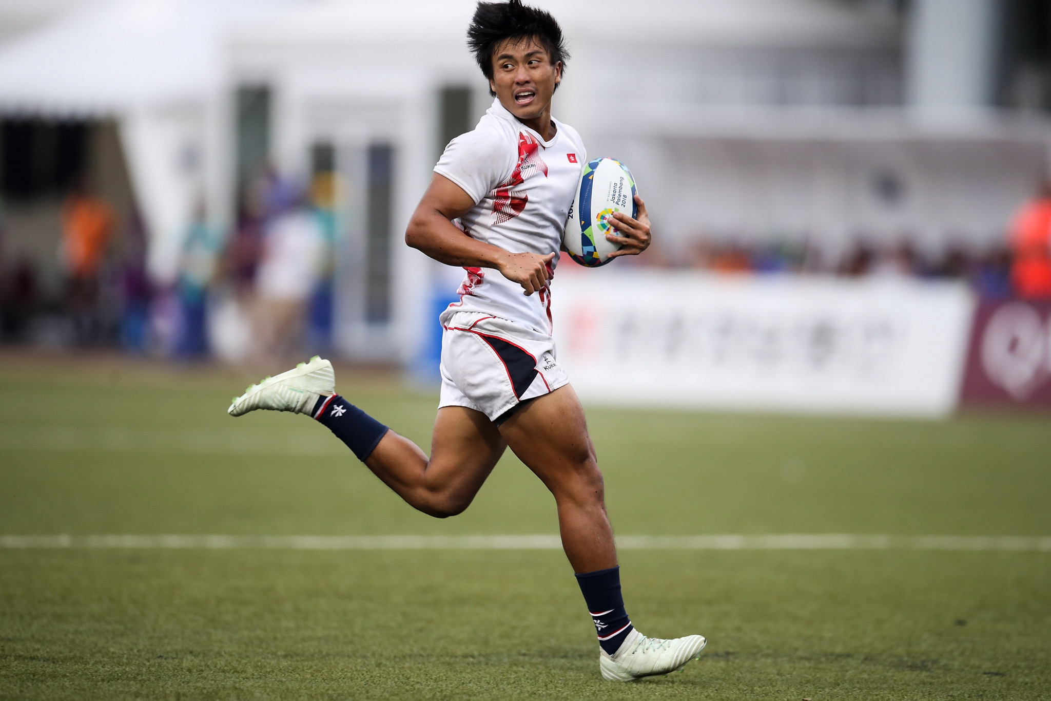 Hong Kong are the reigning men's rugby sevens champions at the Asian Games ©Getty Images