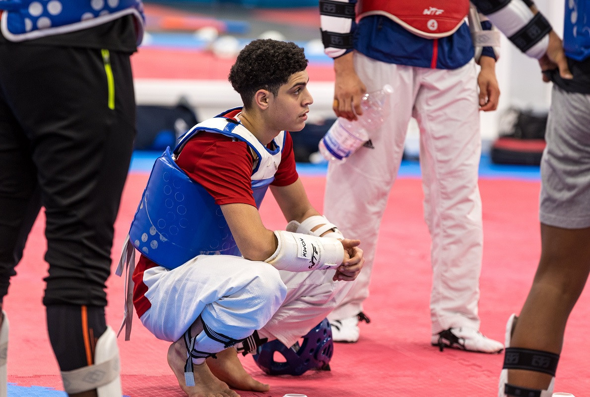 Mohammed Nour won senior gold at the Polish Open in 2019, at the age of 17 ©GB Taekwondo