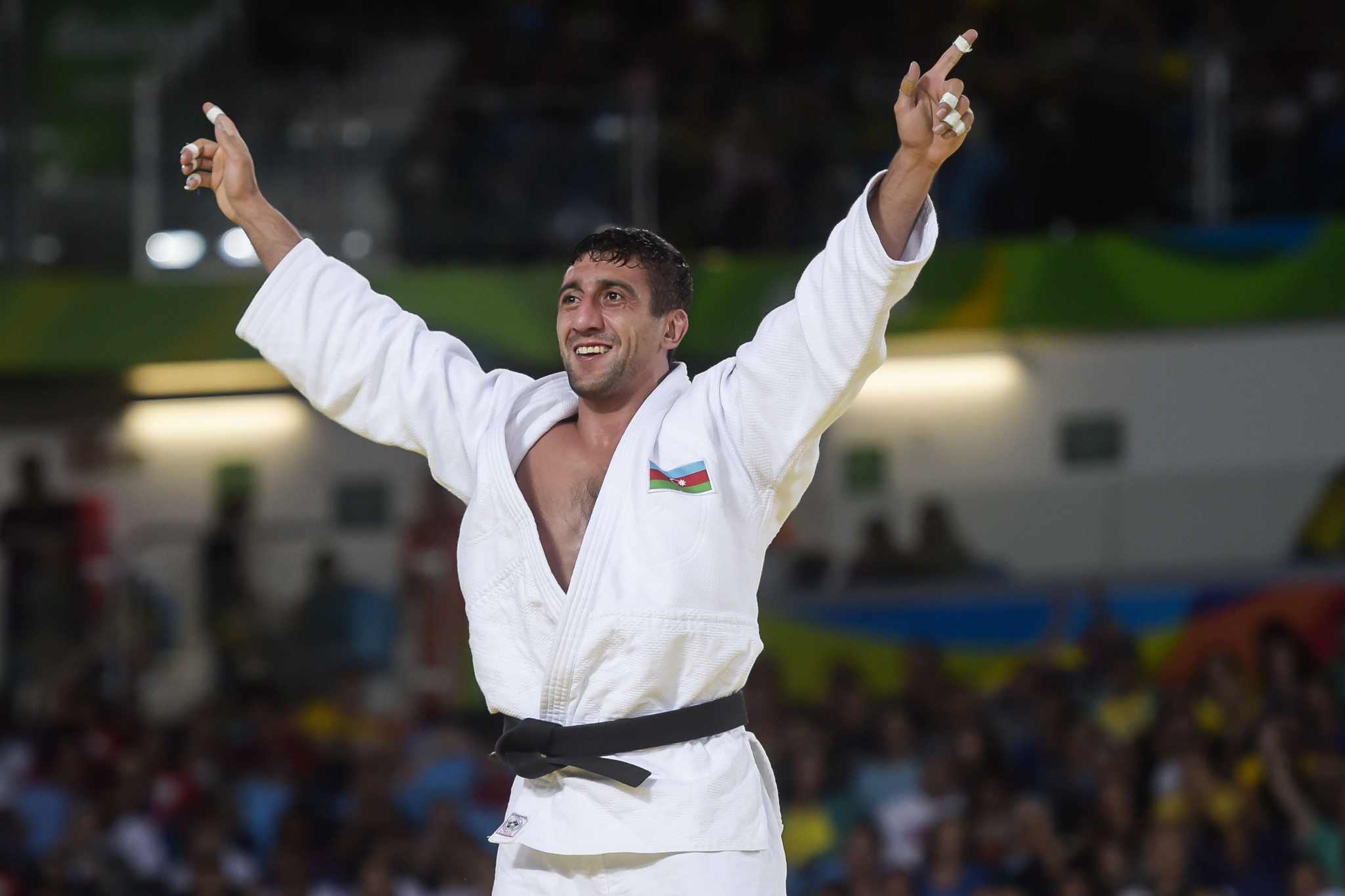 Ramil Gasimov was Azerbaijan's only Paralympic champion at Rio 2016, winning in judo ©Getty Images