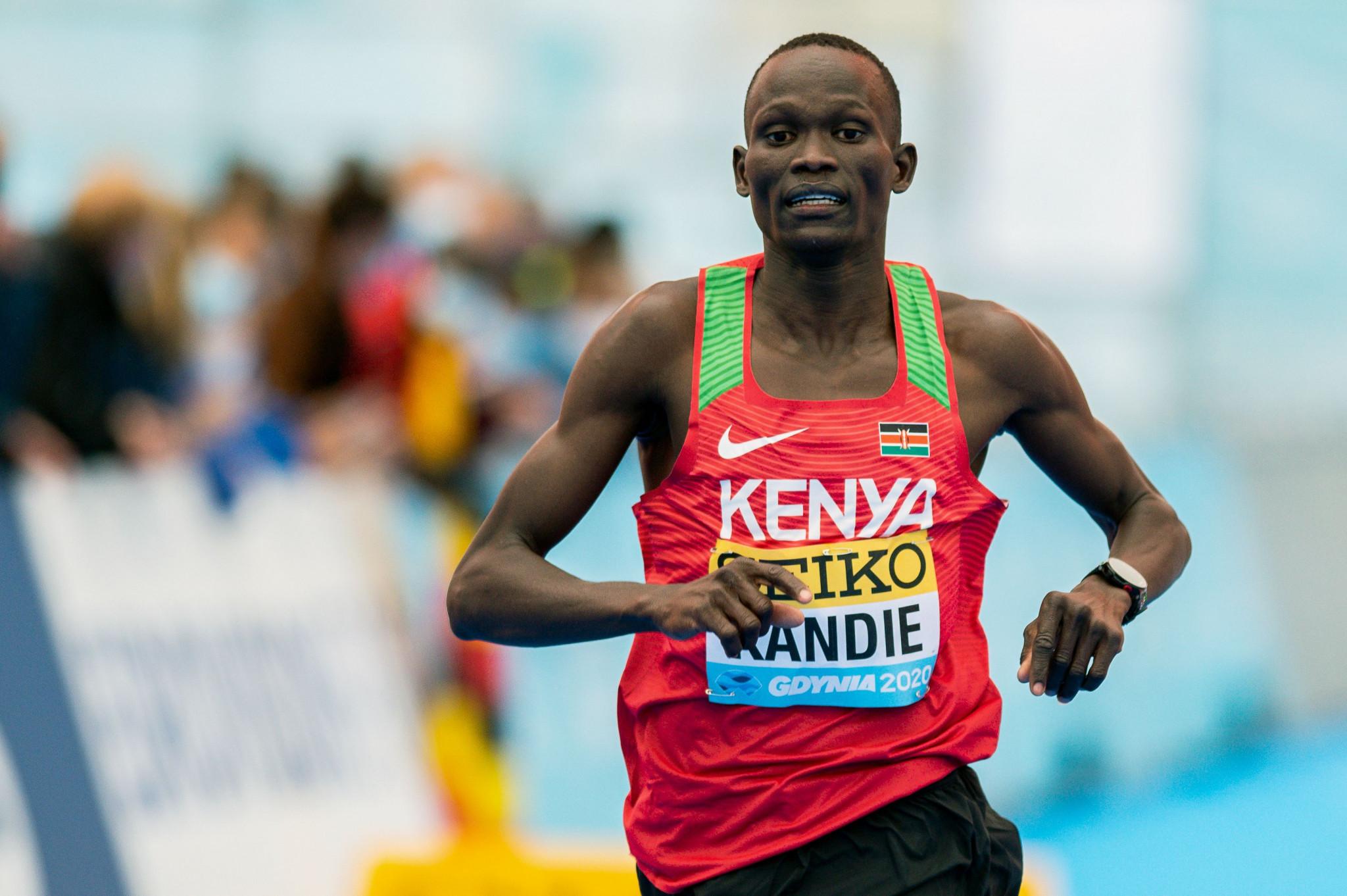Kibiwott Kandie is eyeing 10,000m success for Tokyo 2020 ©Getty Images