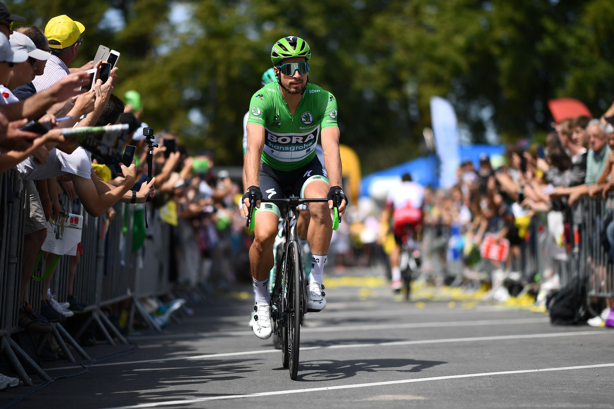 Peter Sagan is the holder of a record seven green jerseys at the Tour de France ©Getty Images