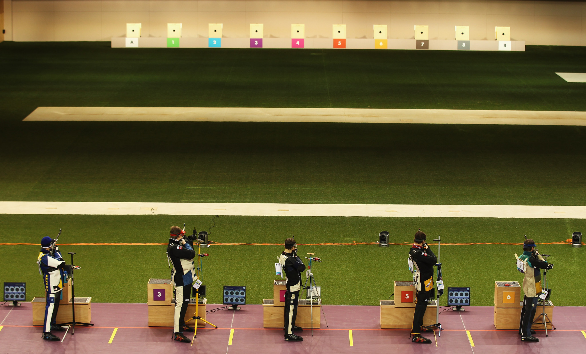 The European rankings could be used to determine the qualifiers for Tokyo 2020 as shooting events continue to be disrupted by the coronavirus pandemic ©Getty Images