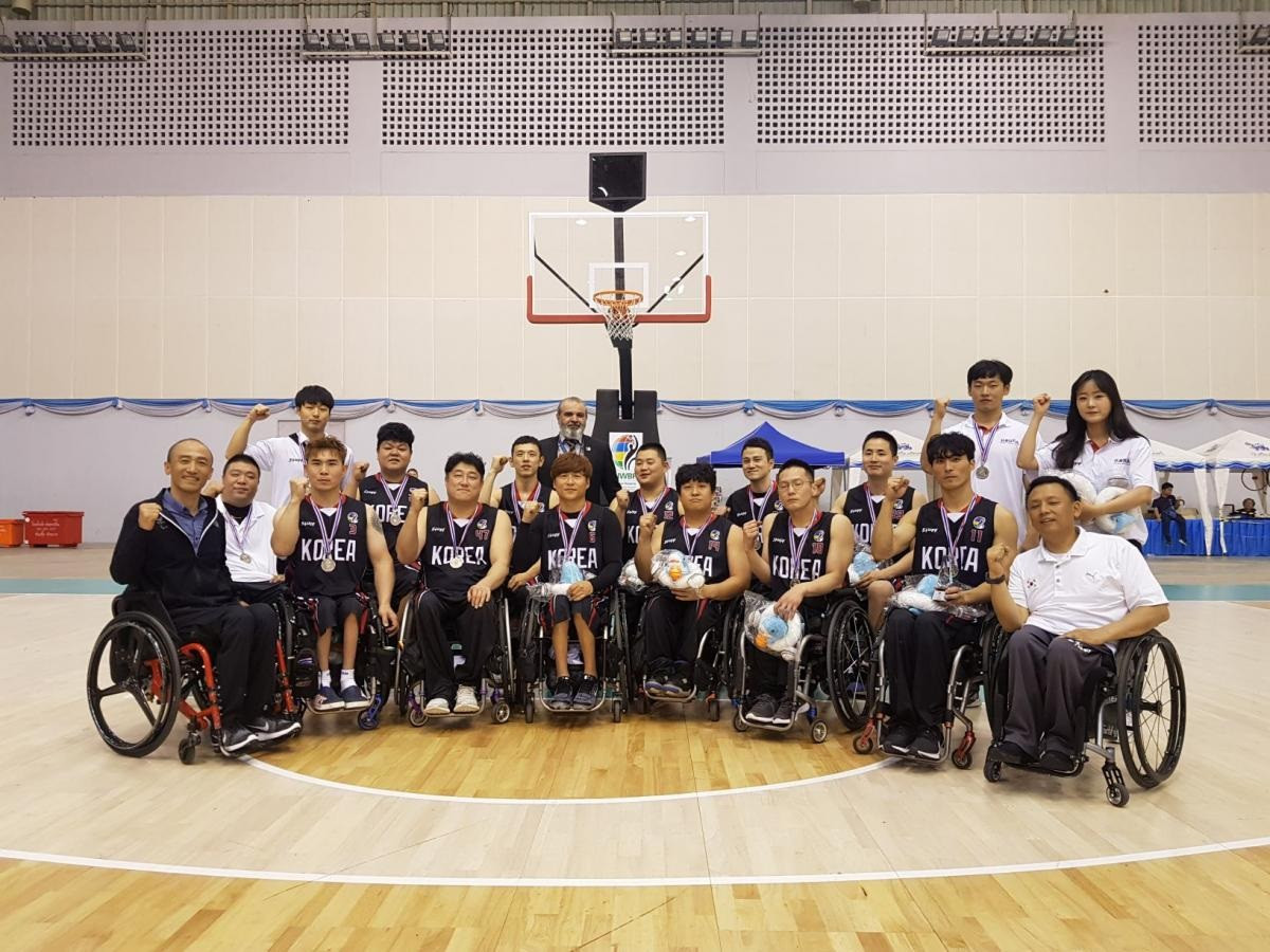 South Korea wheelchair basketball team vow to play in memory of late coach at Tokyo 2020