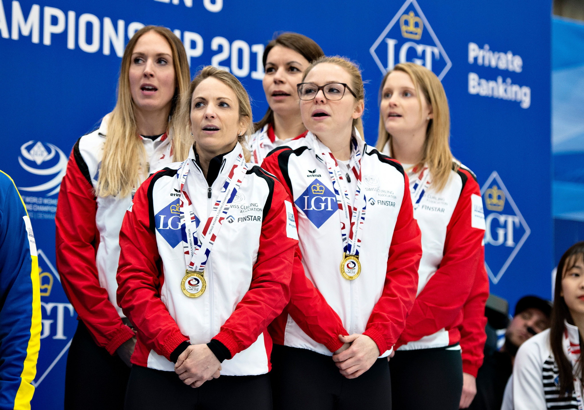 Switzerland are the current World Women's Curling Championship champions ©Getty Images