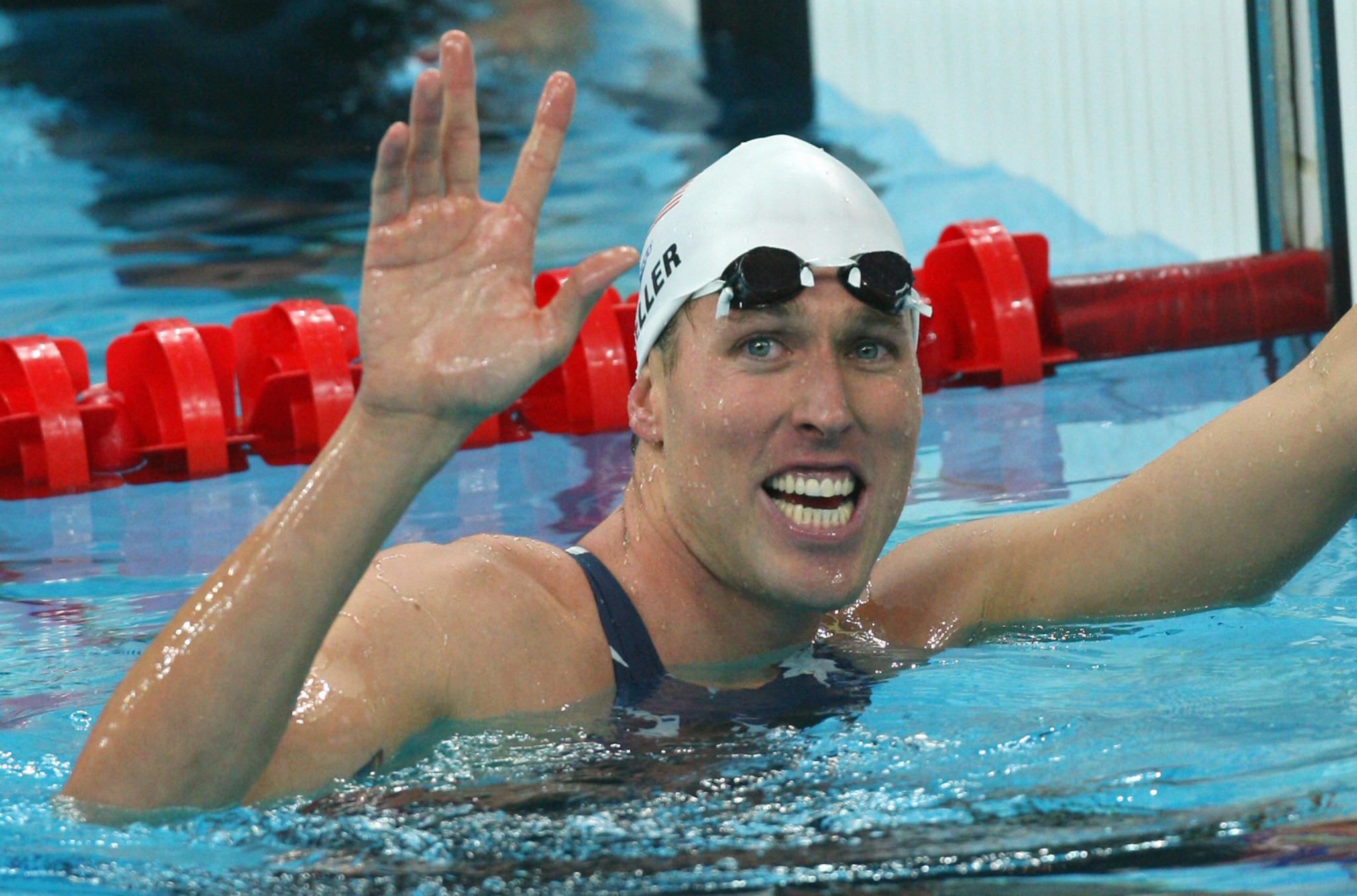Olympic swimming gold medallist Keller identified at US Capitol riot