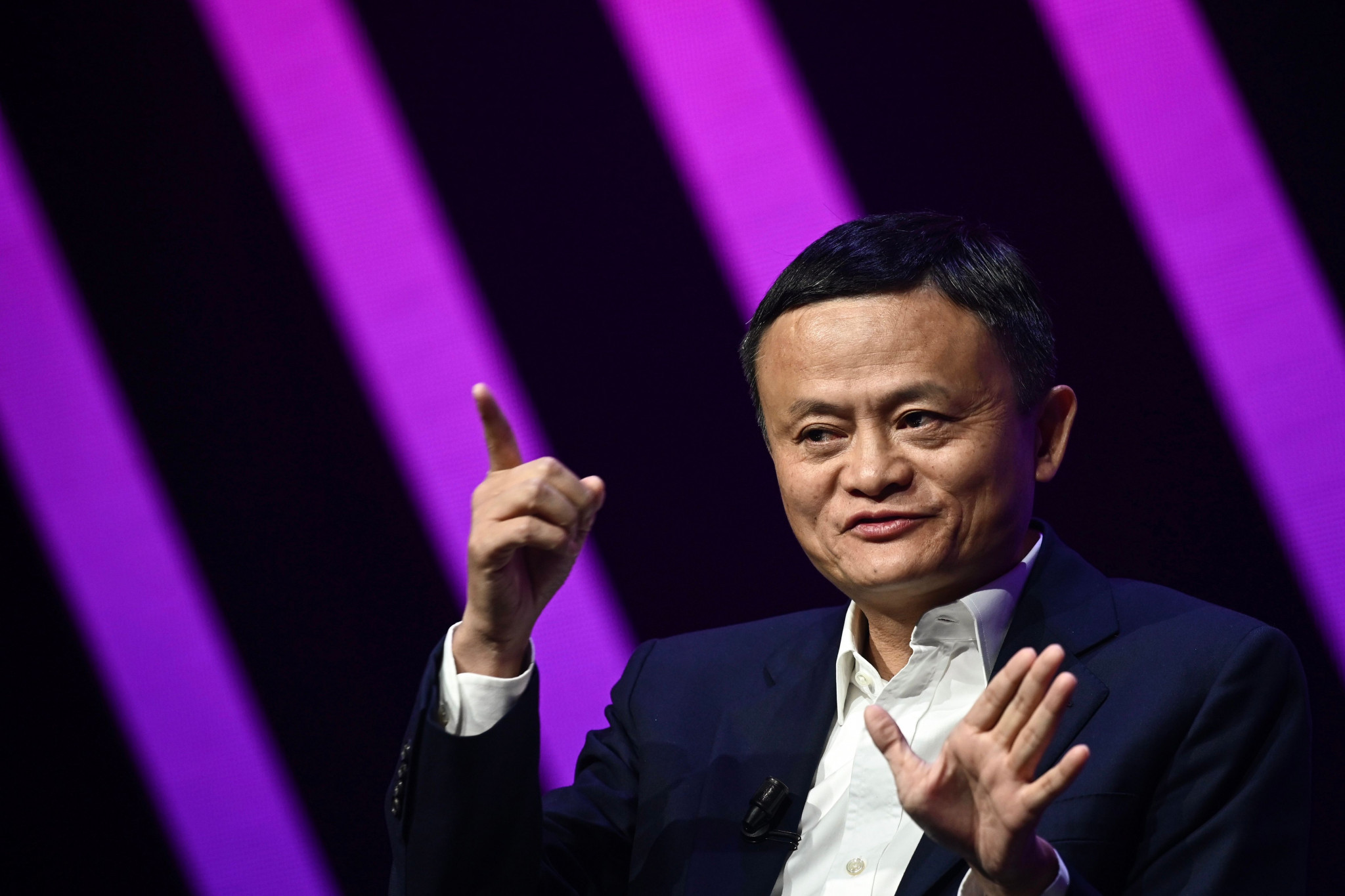Jack Ma has not been seen in public since October ©Getty Images
