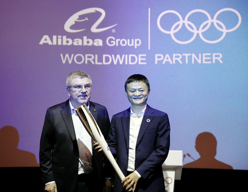 The IOC's partnership with Alibaba was initially considered as a win-win ©Getty Images