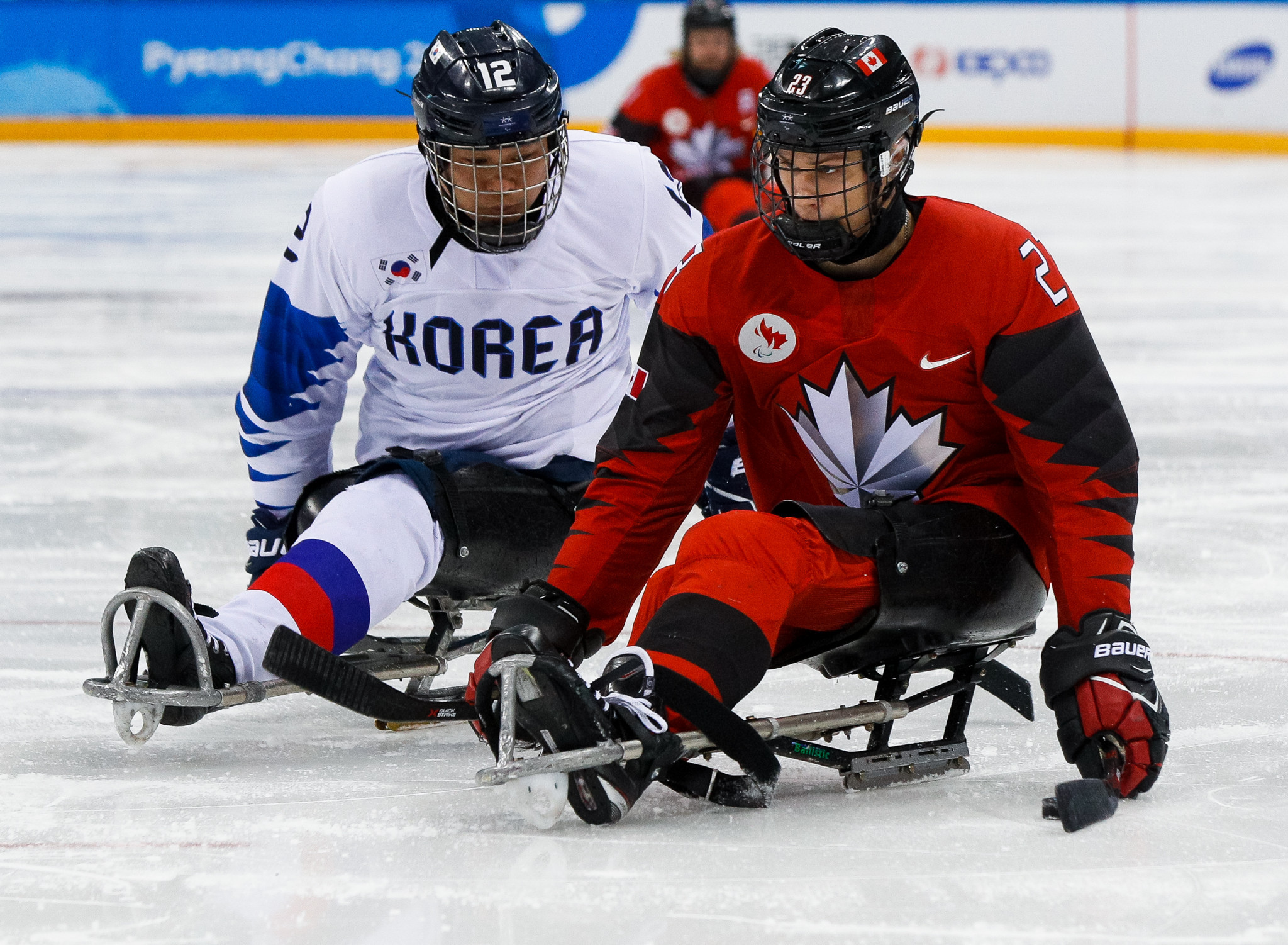 Two-sport Para-athlete Hickey to focus on ice hockey in quest for Beijing 2022 gold