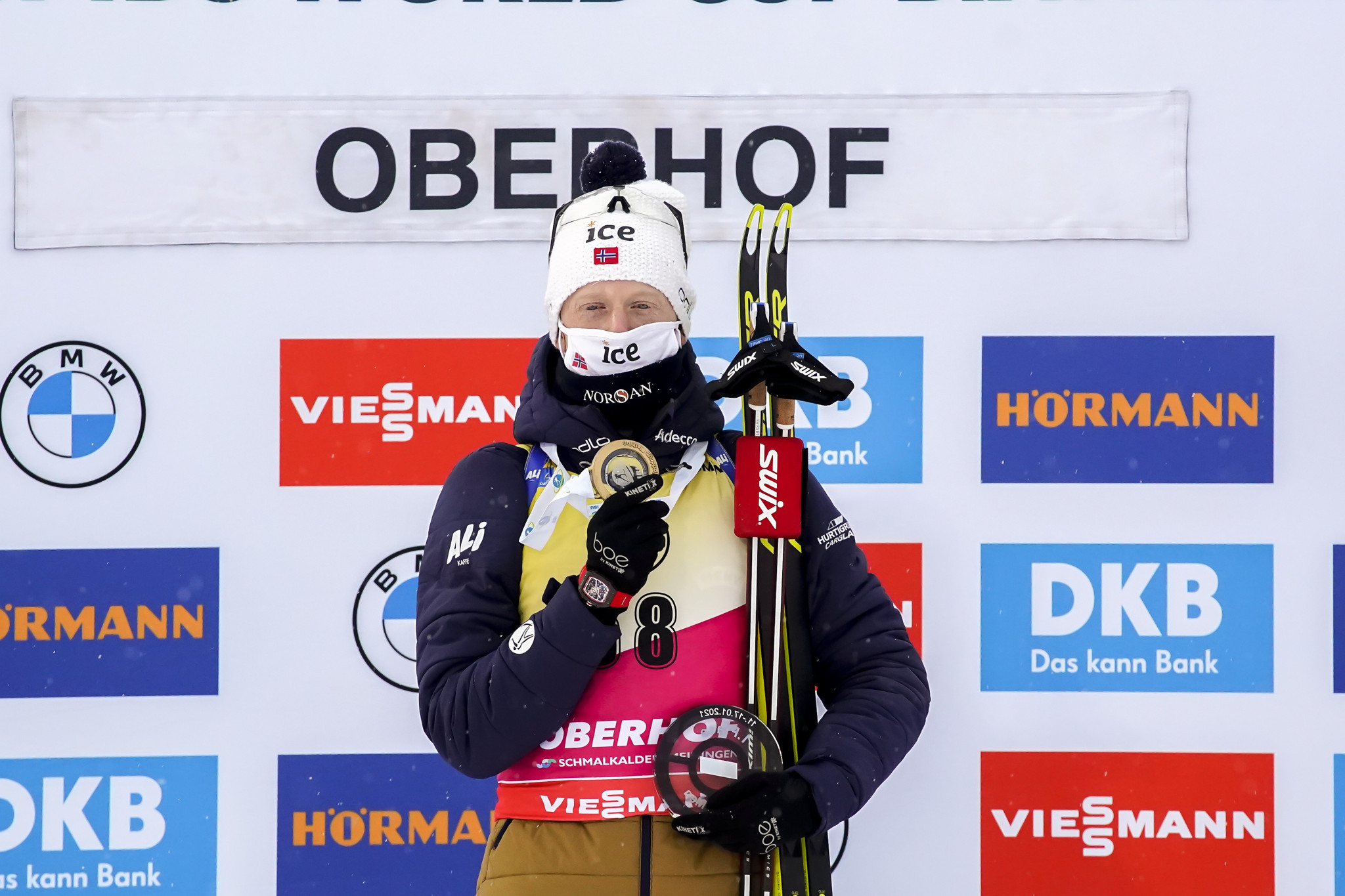 Bø claims another win in Oberhof to extend overall IBU World Cup lead