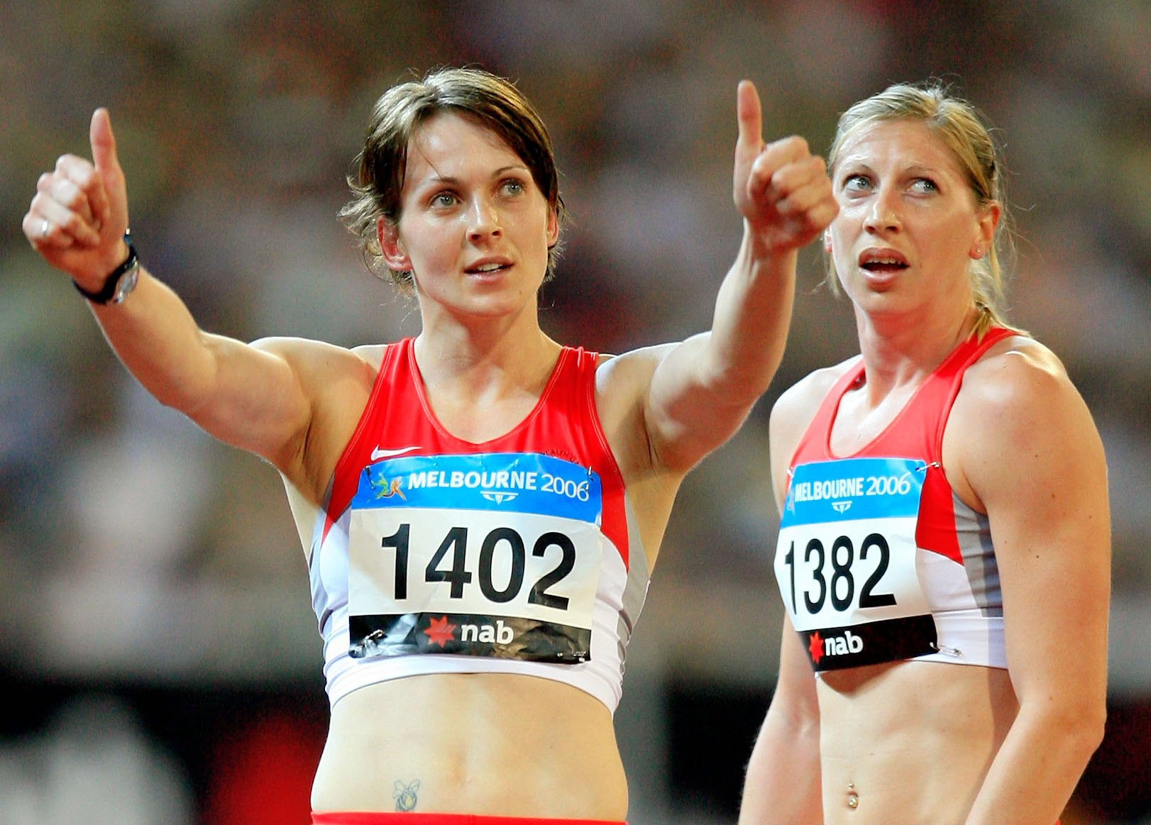 """Kelly Sotherton, who won heptathlon gold at the 2006 Commonwealth Games, has said it is a """"dream come true"""" to lead England's track and field team ©Getty Images"""