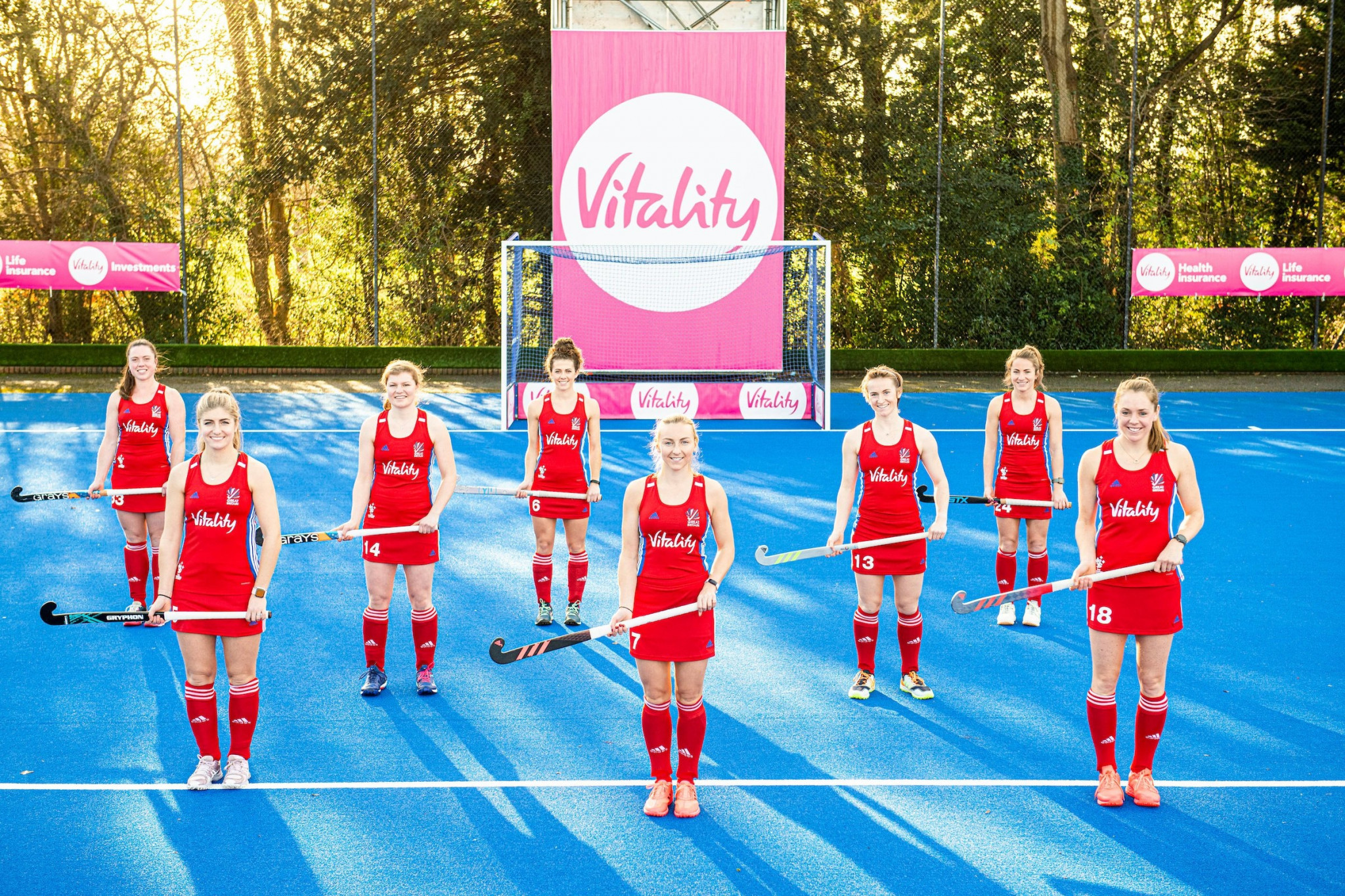 England and Great Britain Hockey sign three-year partnership with Vitality