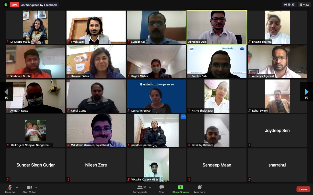 Paralympic Committee of India hold webinar for National Youth Day with athletes