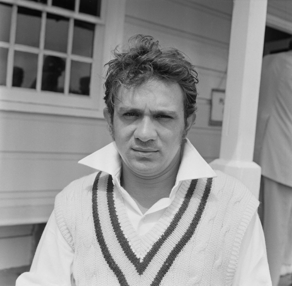 Ashok Mankad, son of Vinood, was among the Indian party which toured England in 1971 ©Getty Images