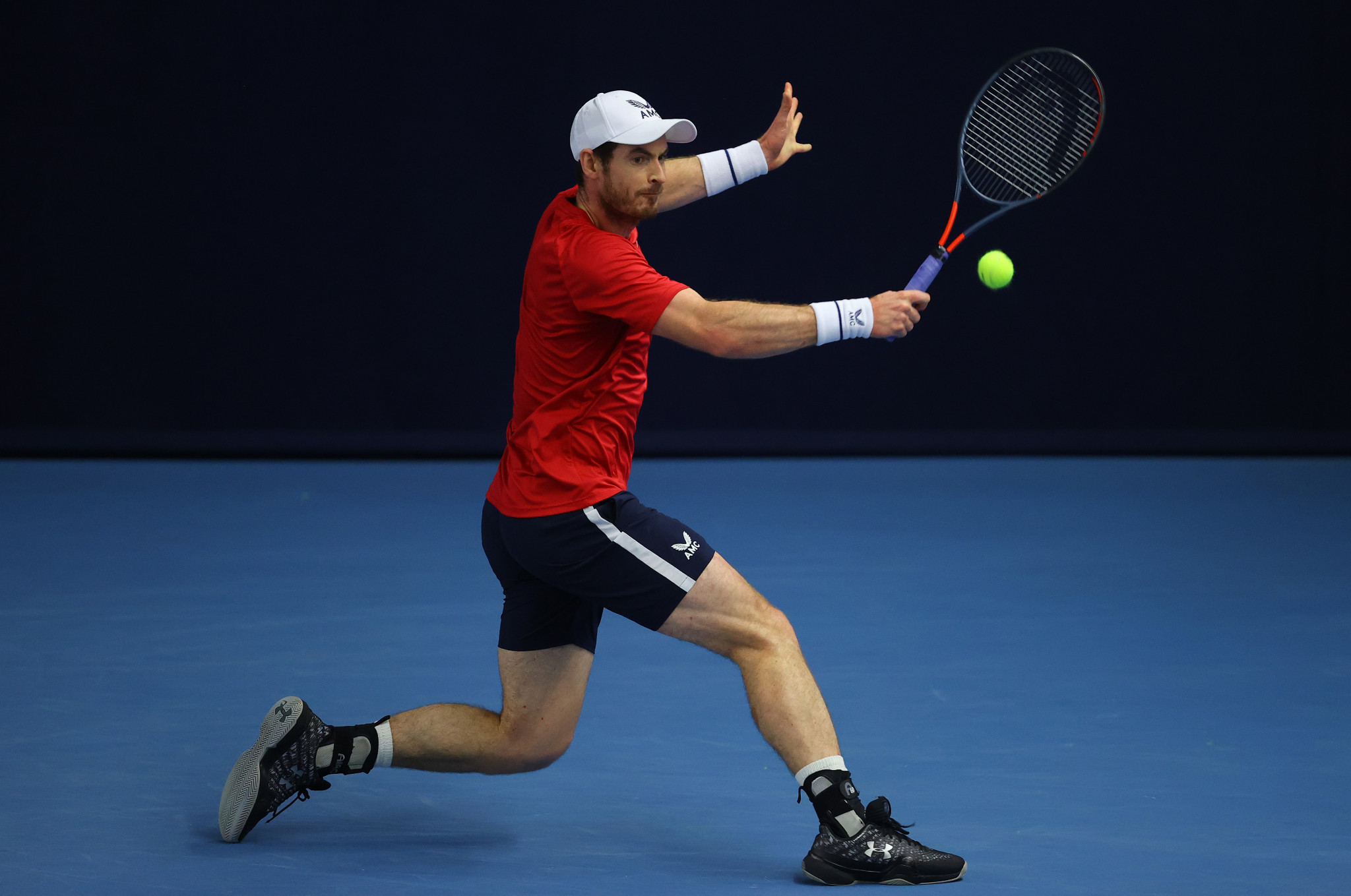 Murray tests positive for COVID-19 ahead of Australian Open