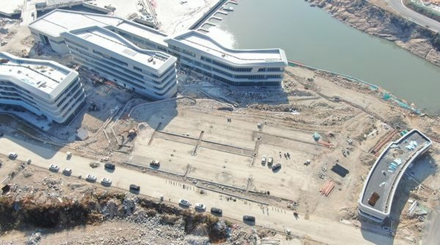 Hangzhou 2022 sailing centre nearing completion