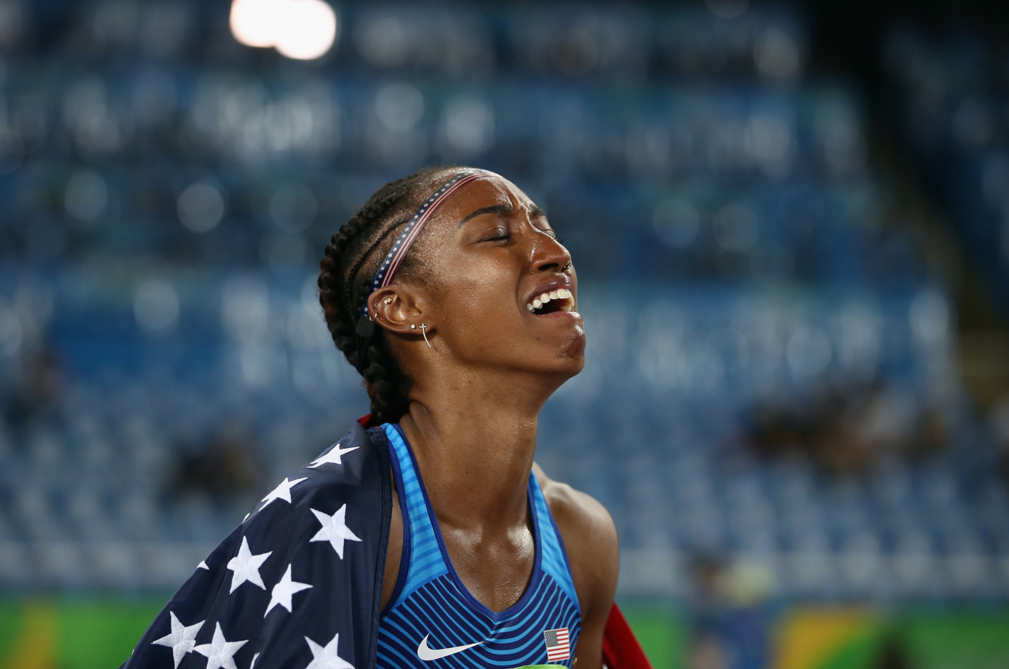 Olympic champion hurdler McNeal charged with alleged tampering of doping control