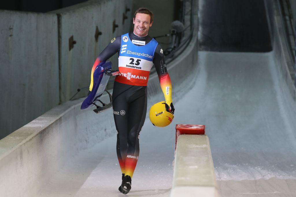 Der Deutsche Felix Loch hat einen herausragenden Vorteil im Rennen um den All-Men-Skate-Weltcup-Titel © Getty Images
