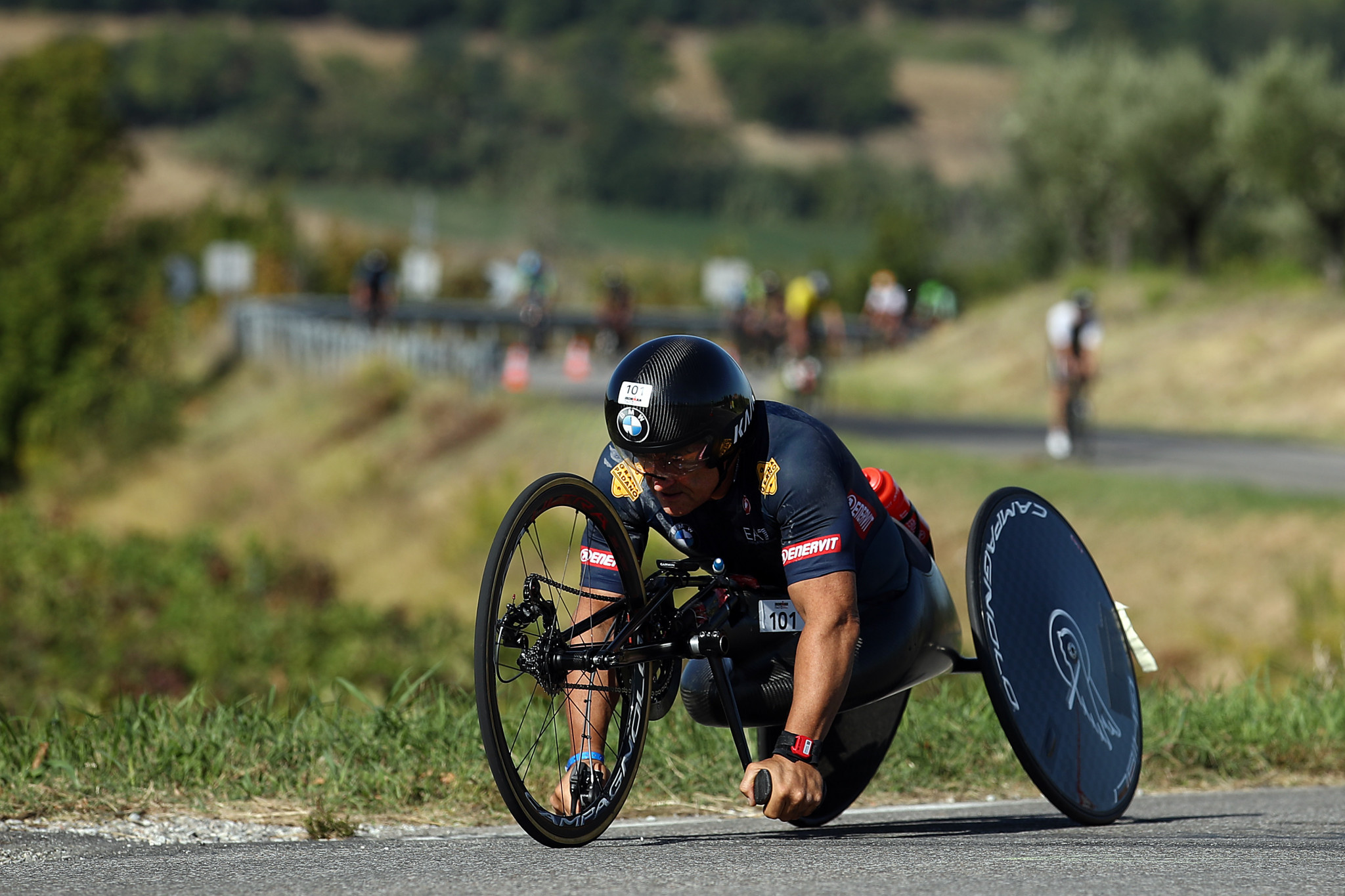 Alex Zanardi claimed two gold medals in Para cycling at both London 2012 and Rio 2016 ©Getty Images