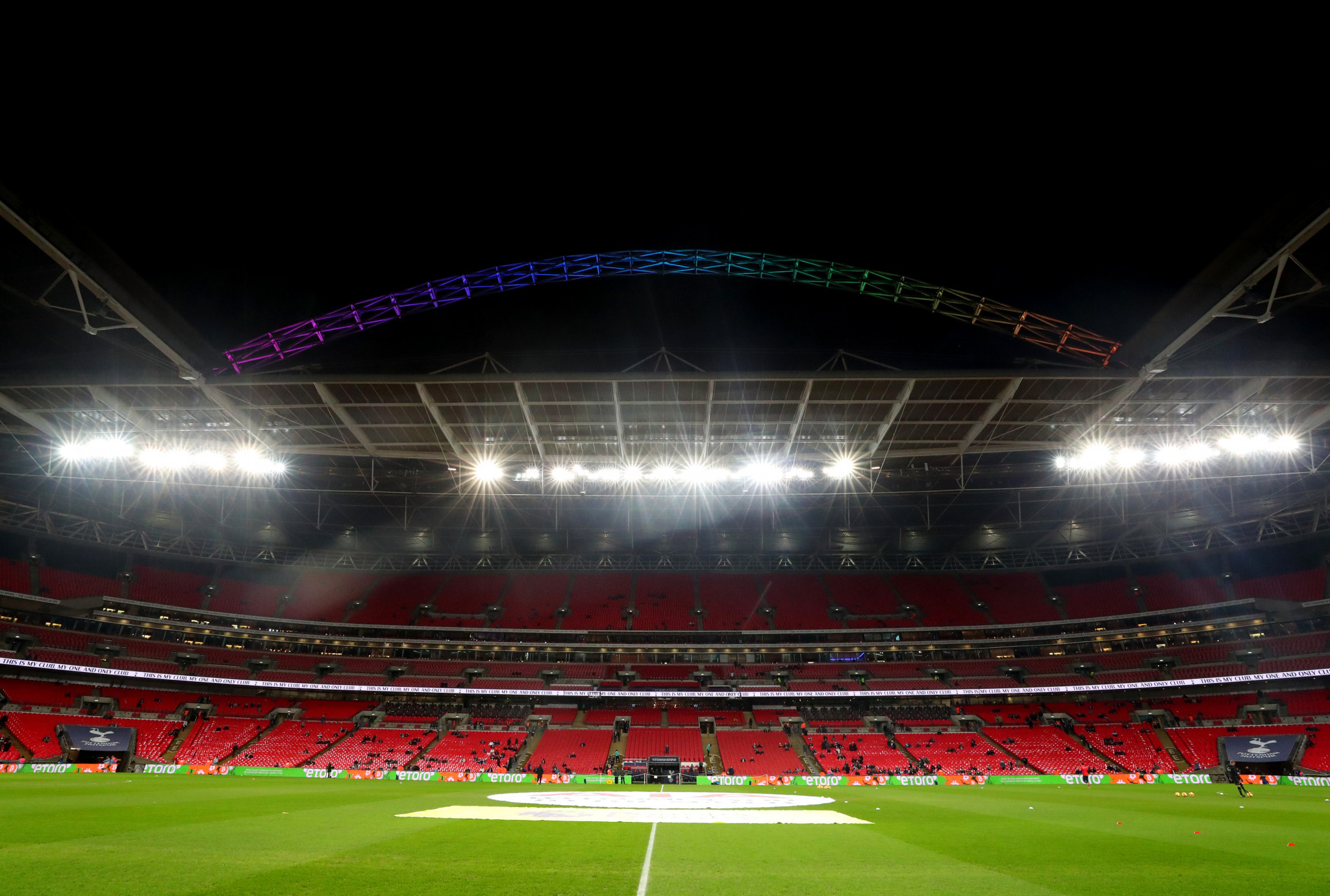 London has been touted to hold the UEFA European Championship in its entirety, with Wembley already set to host the semi-finals and final ©Getty Images