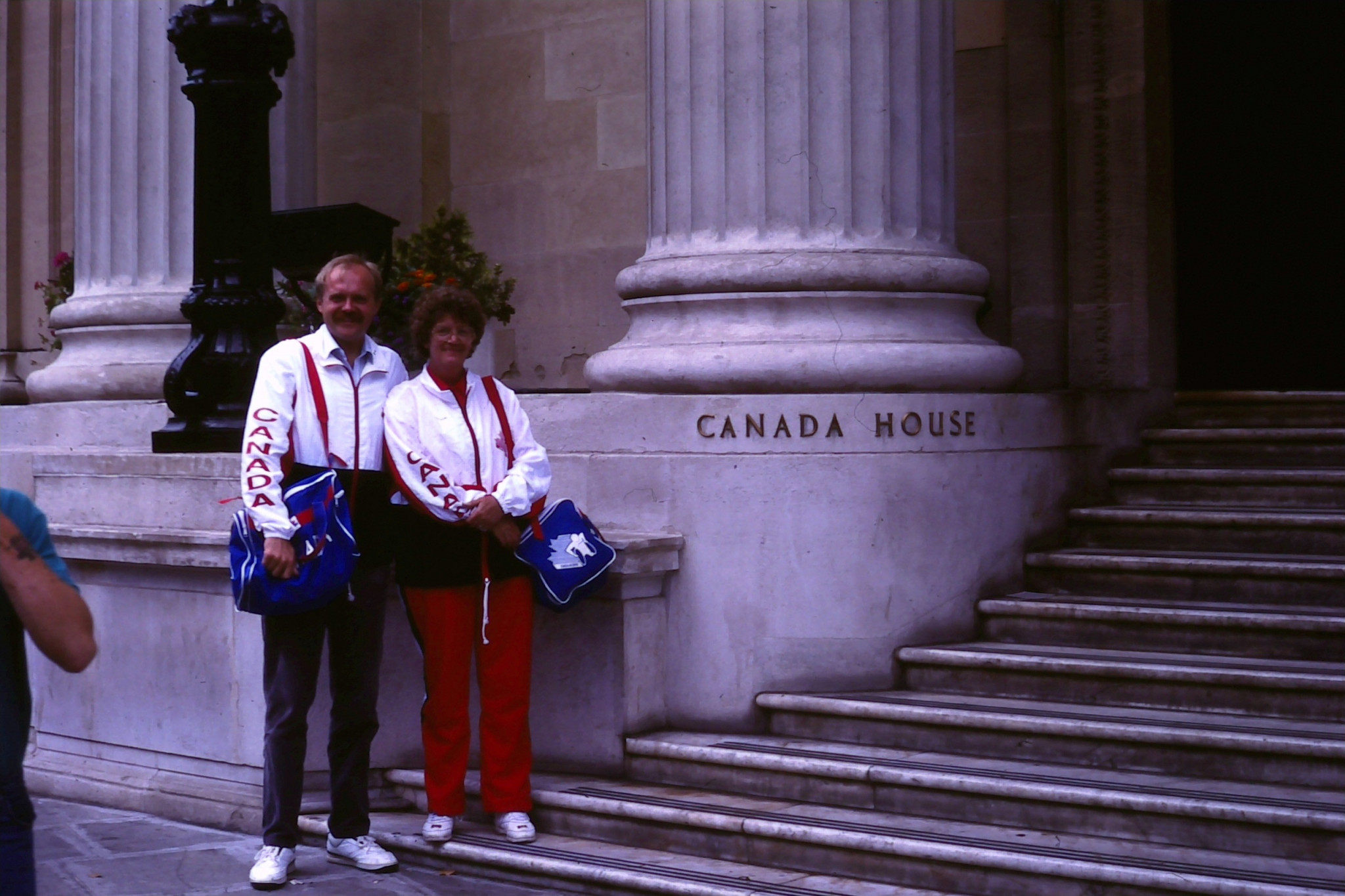 Barbara Montemurro at the International Stoke Mandeville Games in 1990 ©Wheelchair Rugby Canada
