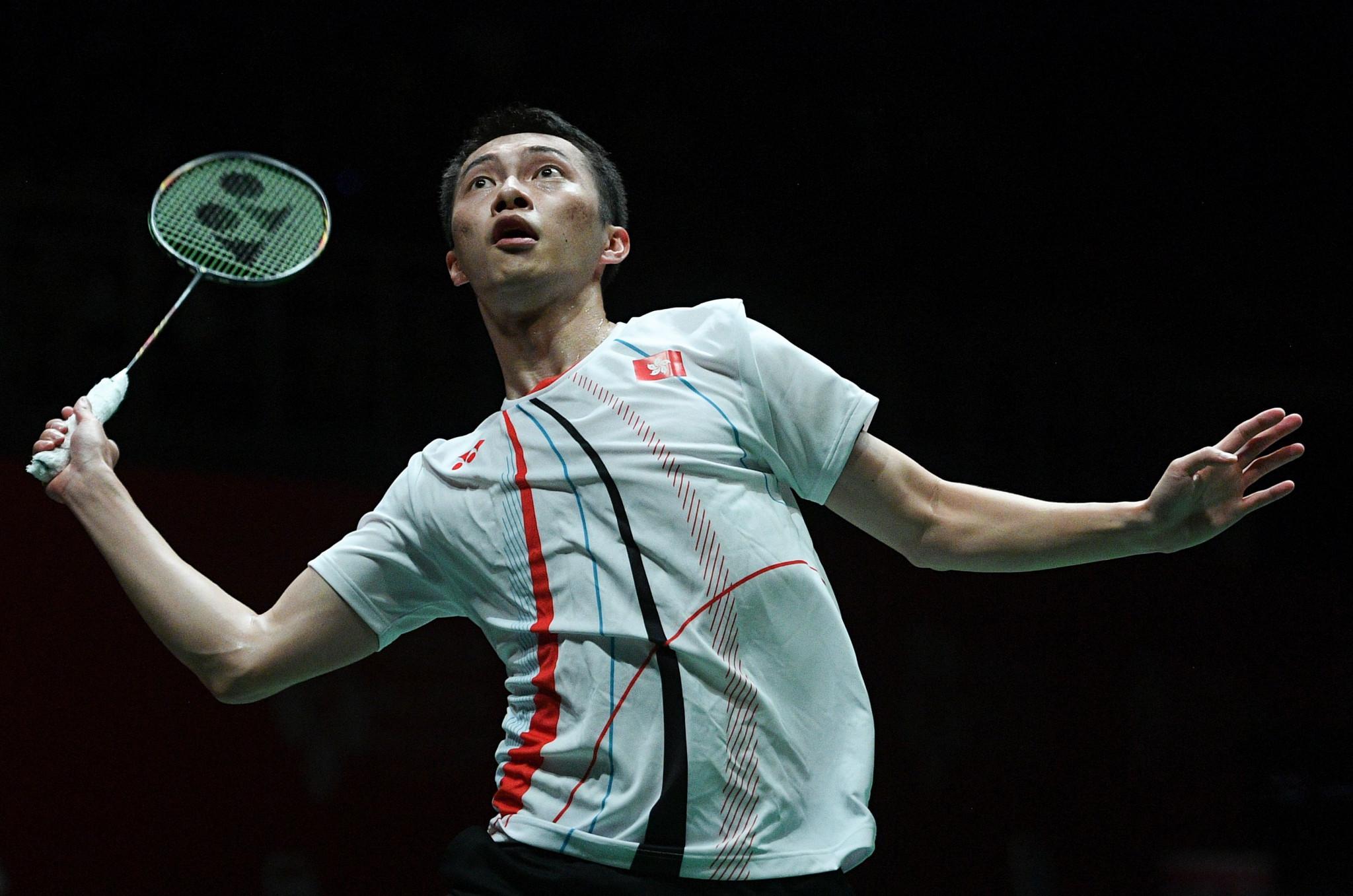 Angus Ng Ka Long advanced to the men's singles final ©Getty Images