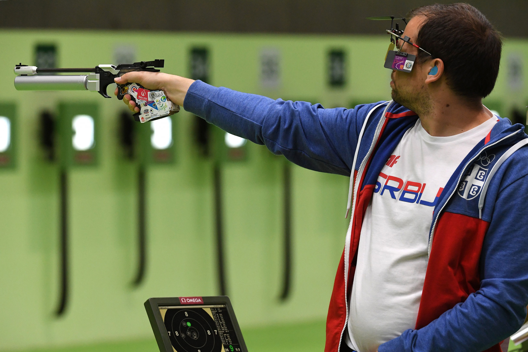 The 10m air pistol is set to be among the shooting disciplines staged in Croatia in May ©Getty Images