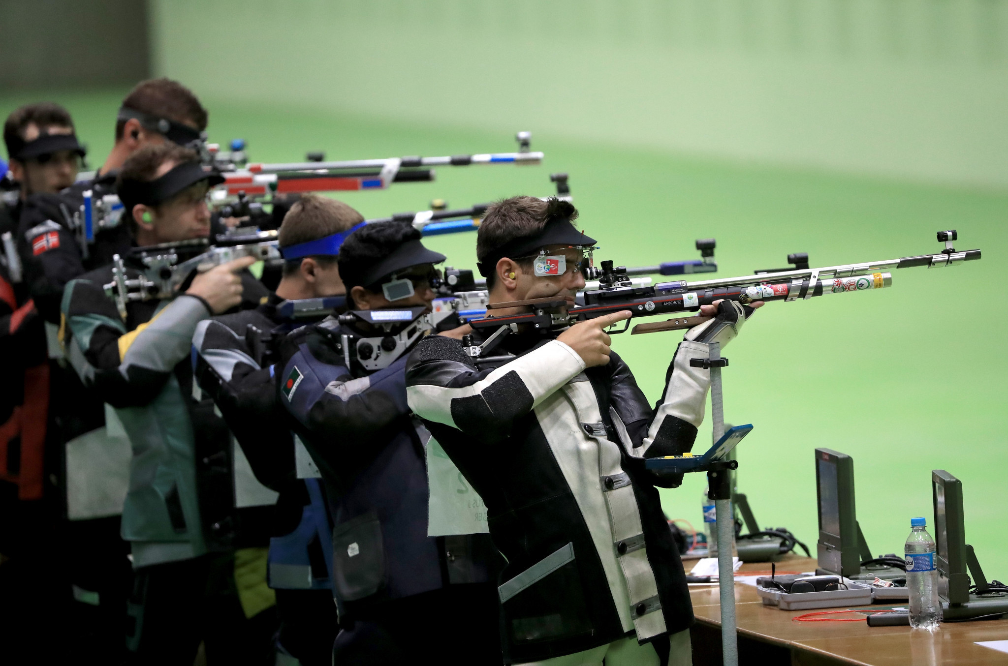 Four European Olympic spots are still up for grabs in 10m air rifle ©Getty Images