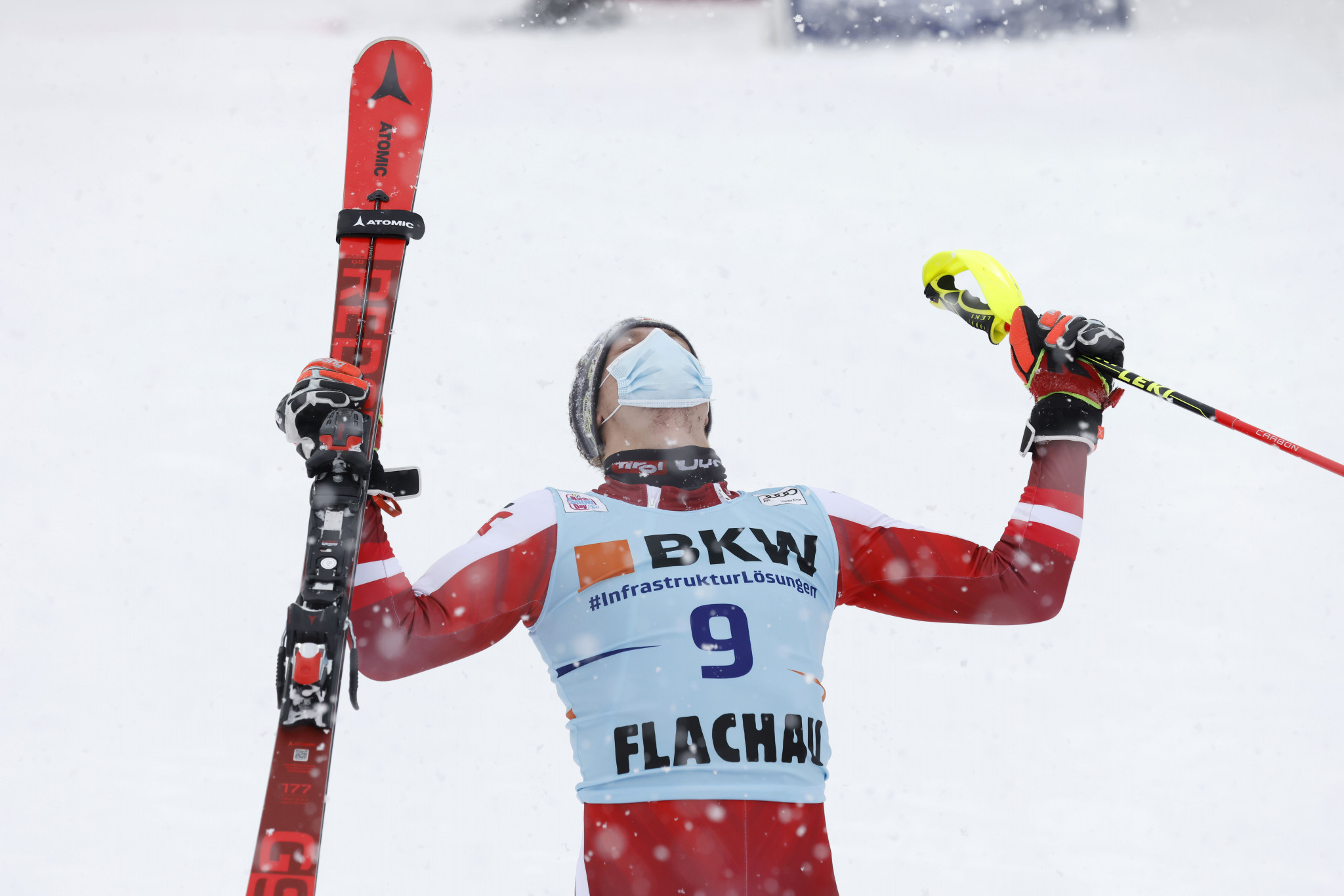 "Feller revels in ""miracle"" first FIS Alpine Ski World Cup win in Flachau"