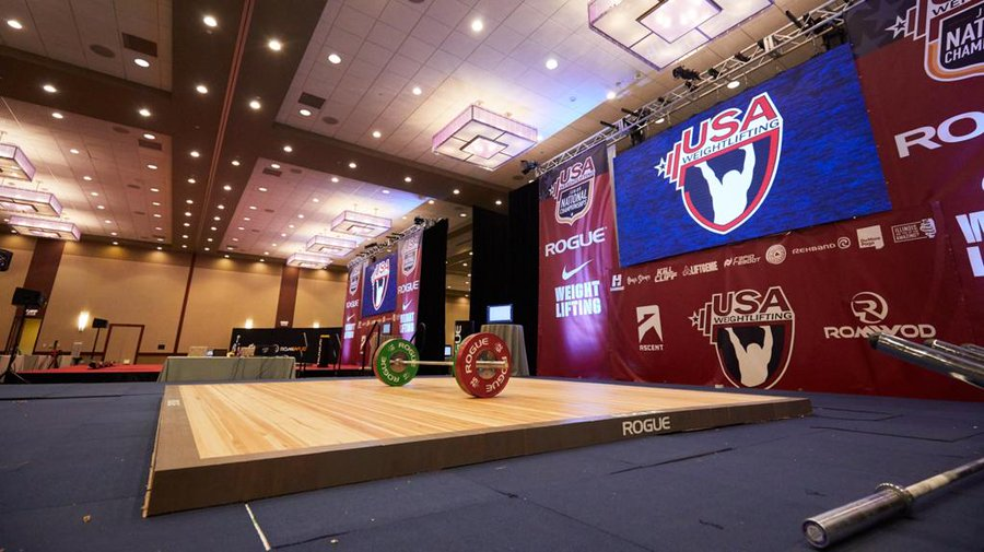 USA Weightlifting thanked sponsors and partners for their support during 2020 ©USA Weightlifting