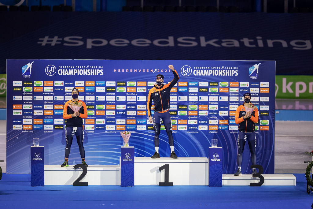 Netherlands dominate on home ice on first day of European Speed Skating Championships