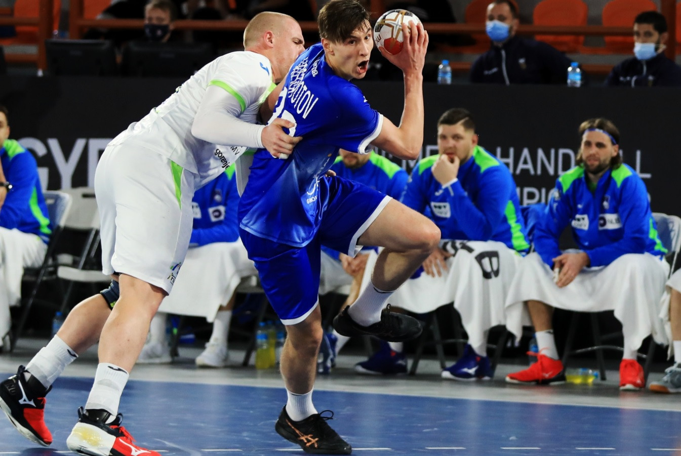 Neutral Russian team claim first win of IHF World Men's Handball Championship