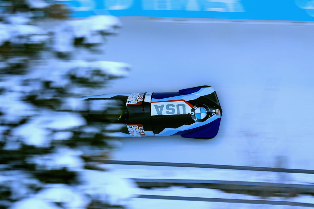 Park City is due to host a third Women's Monobob World Series event tomorrow ©Getty Images