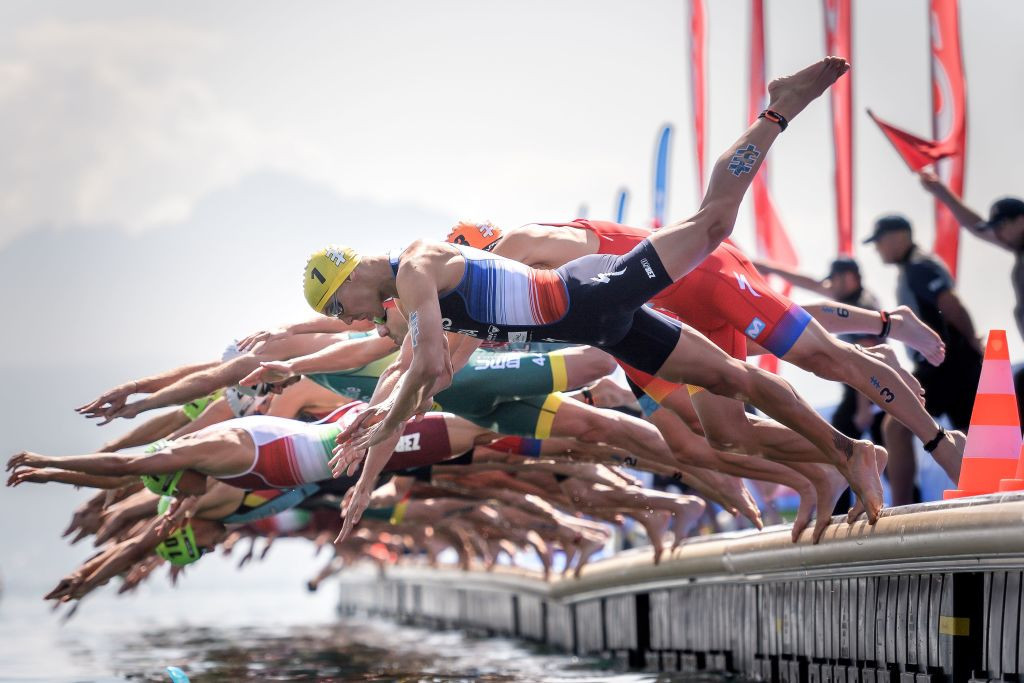 The World Triathlon Championship final is the sport's flagship event outside of the Olympic Games ©Getty Images