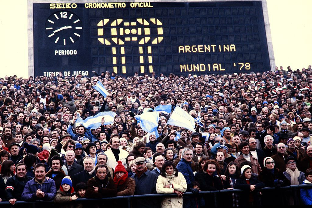 The lead-up to the 1978 was tumultuous for host country Argentina ©Getty Images