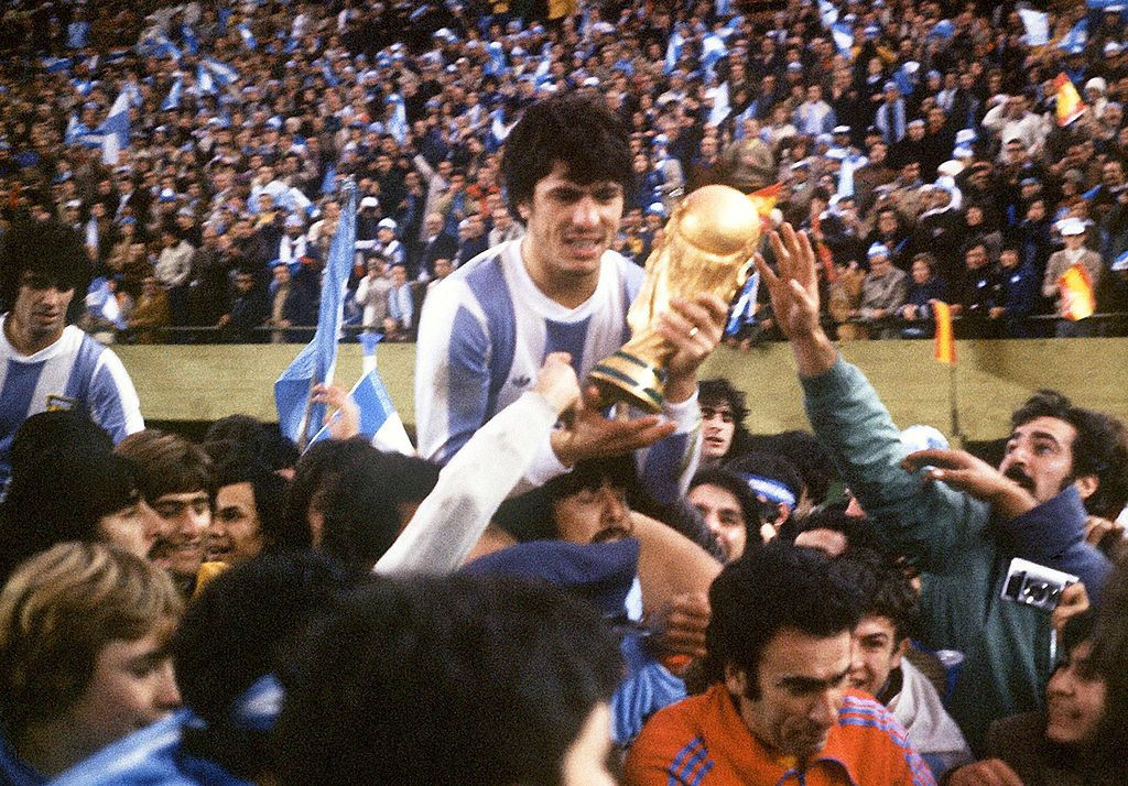 Argentina won the 1978 World Cup after beating  The Netherlands in the final ©Getty Images