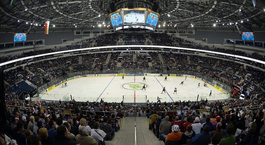 Belarus last hosted the IIHF World Championship in 2014 ©Getty Images