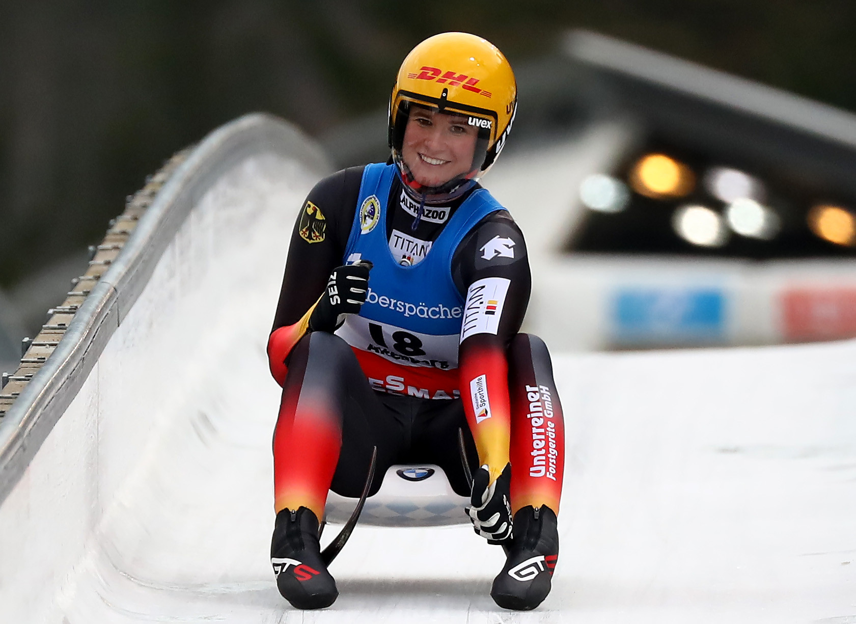 Geisenberger earns 50th Luge World Cup victory in Oberhof