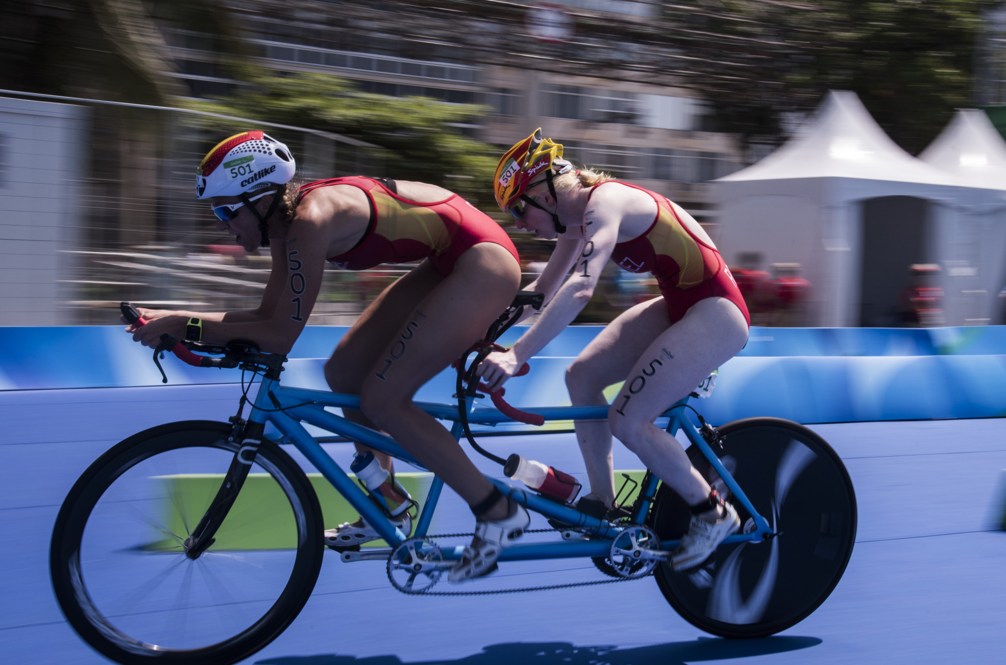 Spanish star Rodriguez finished fifth at Rio 2016 when Para triathlon made its Paralympic debut ©Getty Images