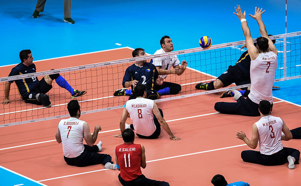 Iran beat Bosnia and Herzegovina to claim the Paralympic title at Rio 2016 ©Getty Images