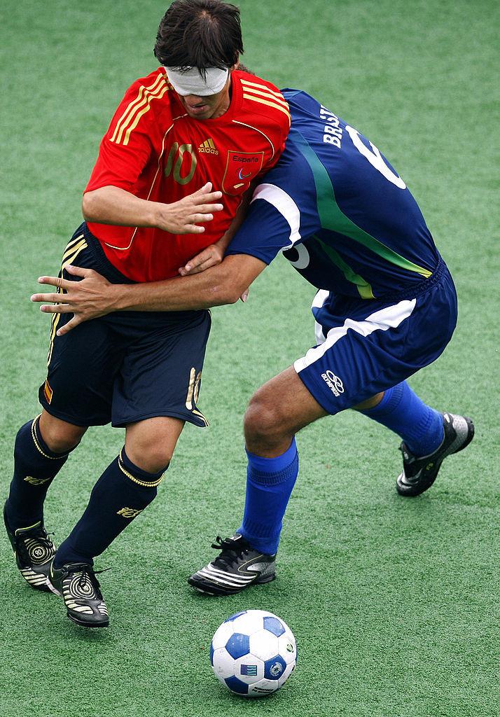 La veterana España jugó en los Juegos Paralímpicos de Atenas 2004 y Pekín 2008 © Getty Images