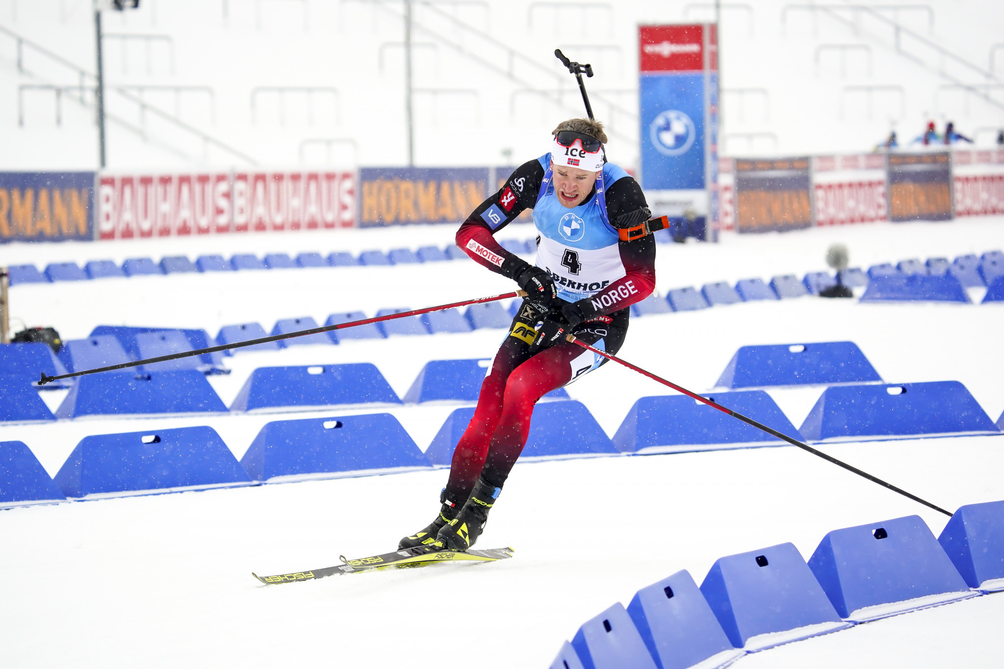 Bø wins close mass start contest at IBU Biathlon World Cup in Oberhof
