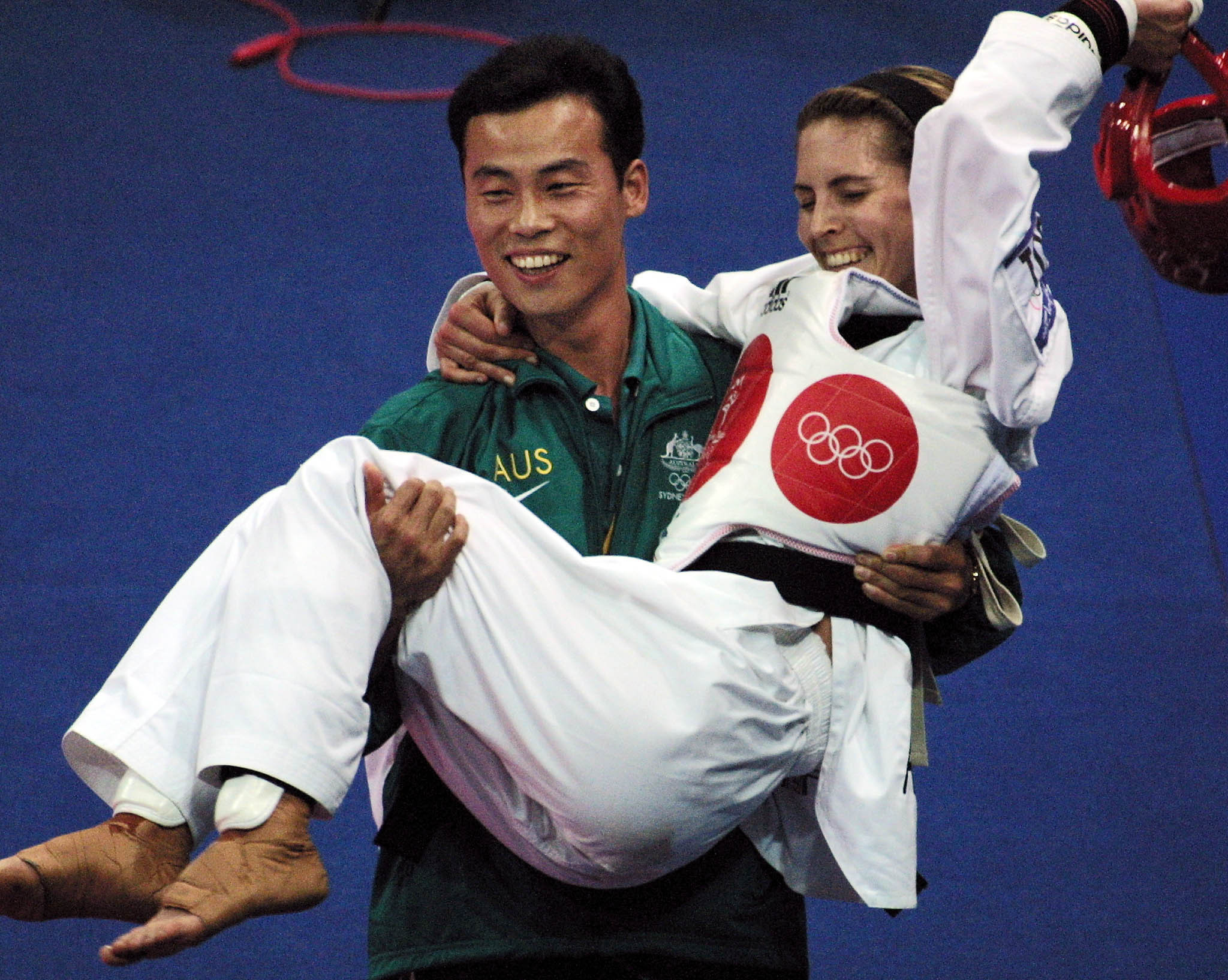 Lauren Burns was the last Australian to win gold in taekwondo following her success at Sydney 2000 ©Getty Images