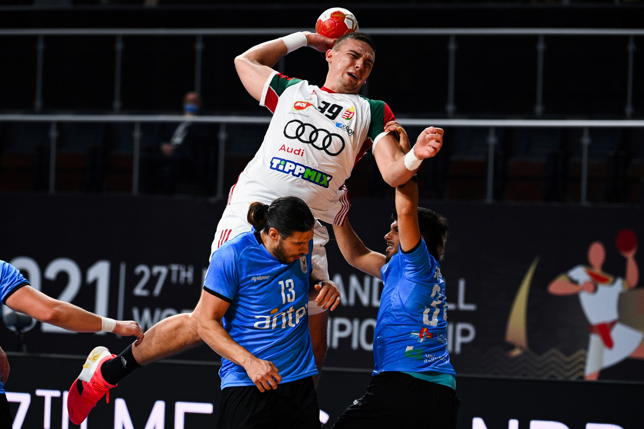 Hungary reached the main round of the IHF Men's Handball World Championship after a comfortable win over Uruguay ©Getty Images