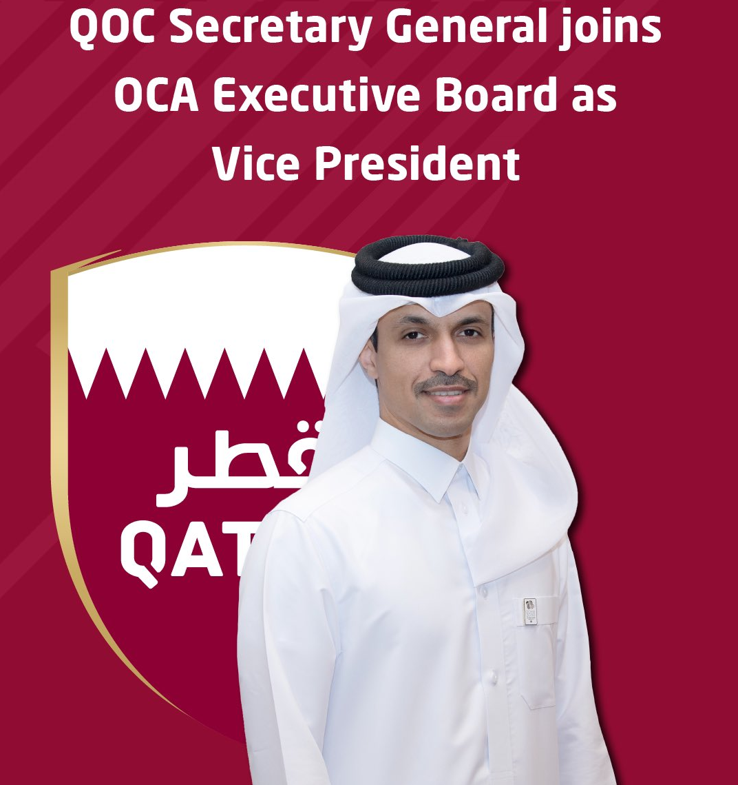 QOC secretary general joins OCA Executive Board after Doha awarded 2030 Asian Games