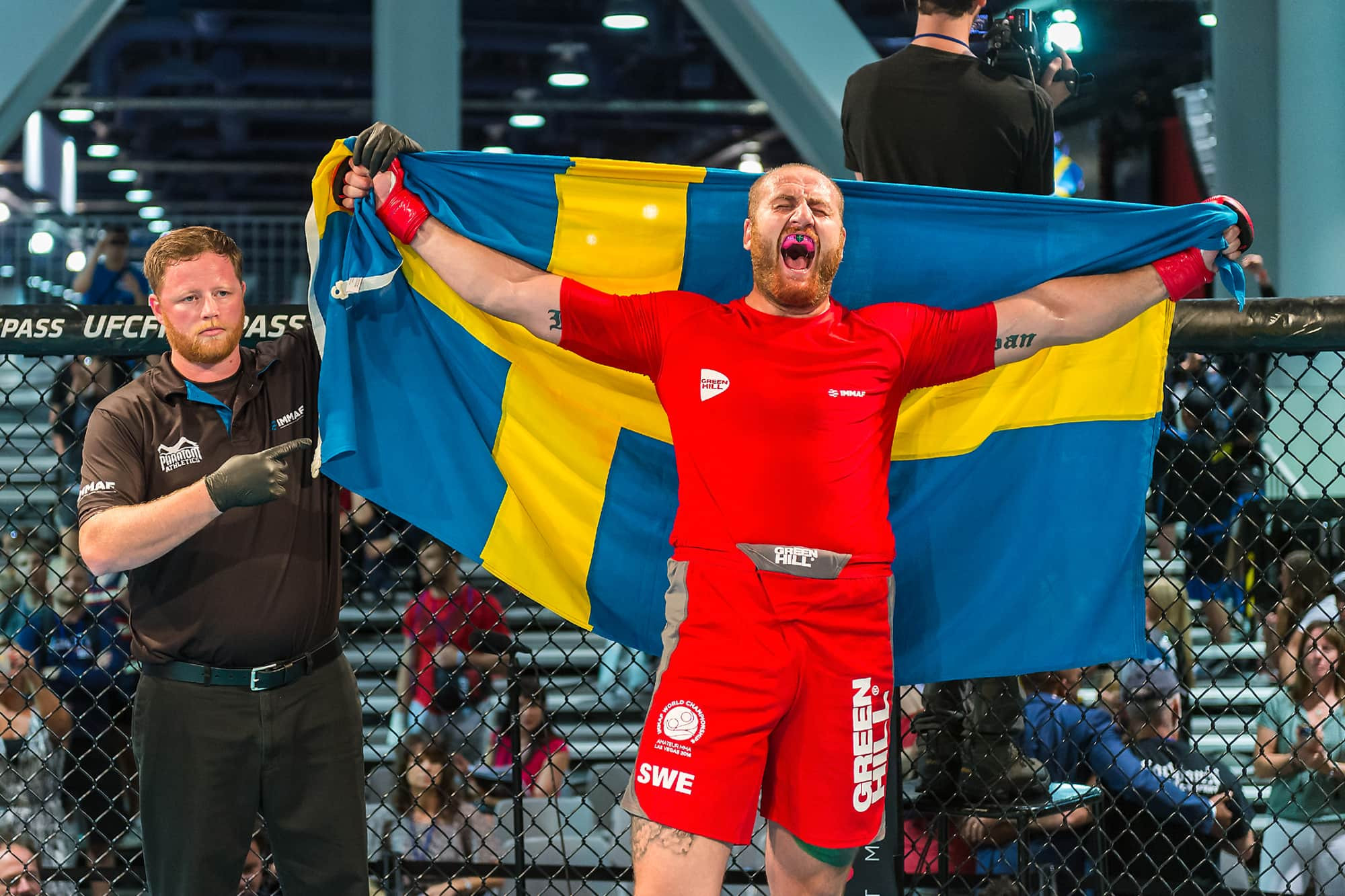 IMMAF Athletes' Commission chairman Irman Smajic oversaw some of the changes to athletes rights ©IMMAF