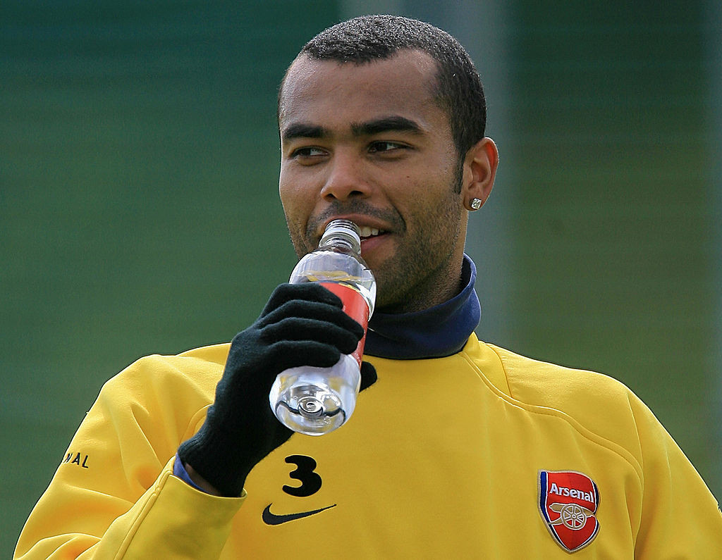 Arsenal's Ashley Cole offered one of the prize examples of elite sporting figures becoming detached from everyday reality in his 2006 autobiography ©Getty Images