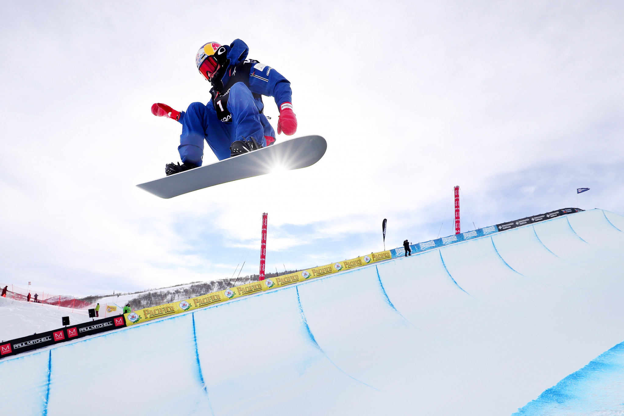 Scotty James will be looking to begin his defence of the halfpipe World Cup crown with victory in Laax ©Getty Images