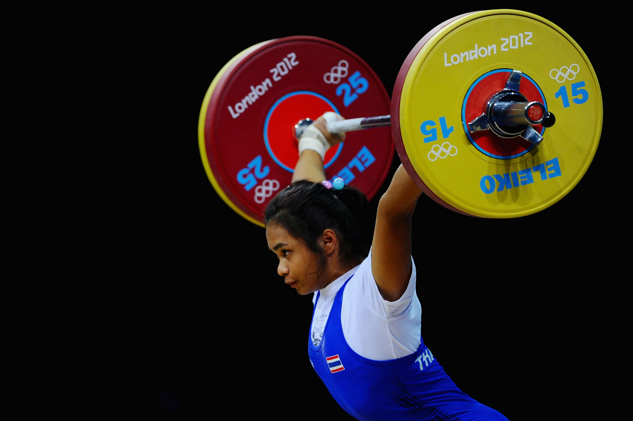Thailand's Rattikan Gulnoi is posed to be prosecuted by the International Testing Agency ©Getty Images