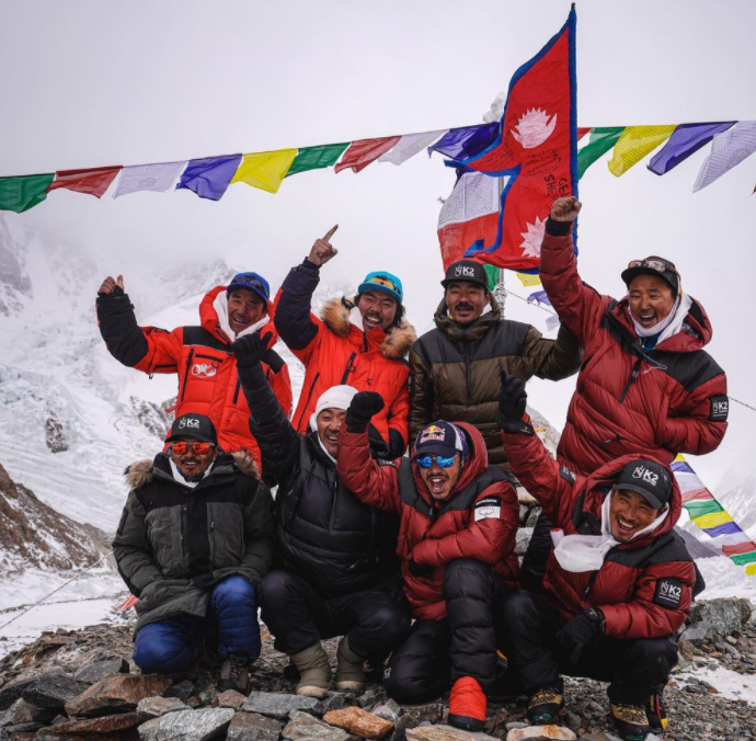 UIAA congratulates Nepali climbers on first successful winter ascent of K2